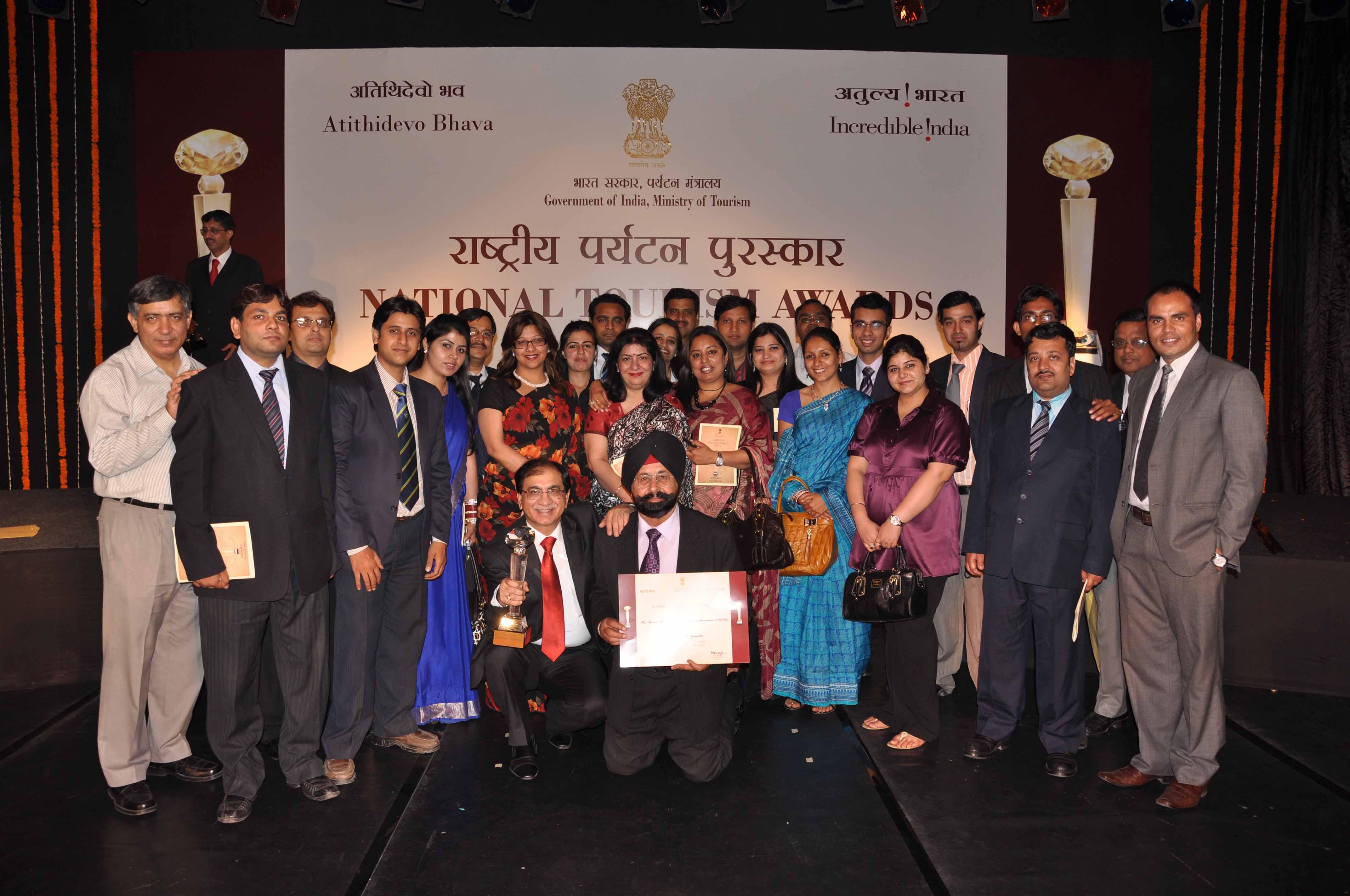 India DMC – Alpcord Network Accepts National Tourism Award