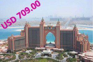 Dubai DMC Promotion Offer - The Atlantis Palm Dubai