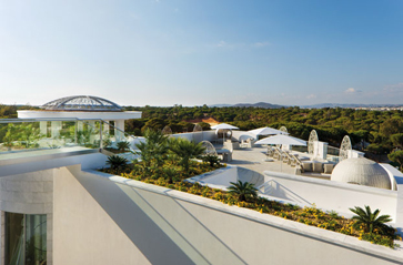 conrad algarve roof garden suite terrace