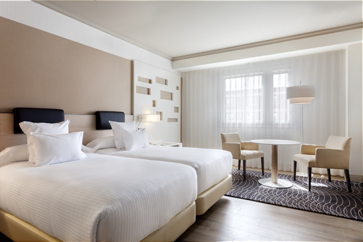 premium room mariott madrid